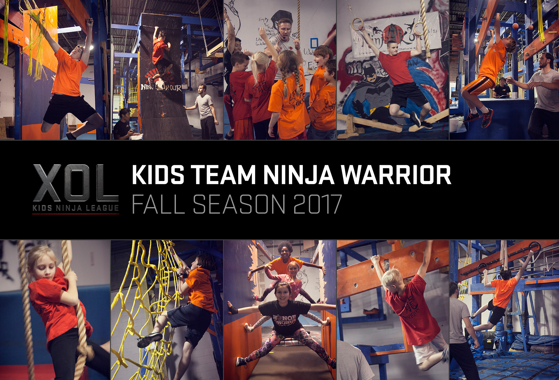 kids team ninja warrior